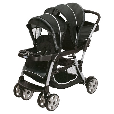 Graco® Ready2Grow Click Connect Double Stroller - Gotham