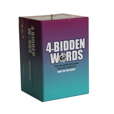 4-Bidden Words by What Do You Meme? Game