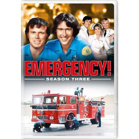 Emergency! Season Three (DVD) - image 1 of 1