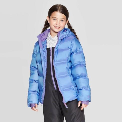 Girls' Puffer Jacket - C9 Champion® - image 1 of 4