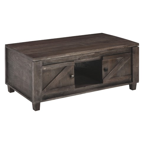 Light Colored Wood Coffee Table.Chaseburg Lift Top Cocktail Table Light Brown Signature Design By Ashley