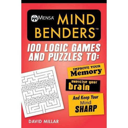 Mensaa Mind Benders - (Mensa's Brilliant Brain Workouts) by  David Millar (Paperback) - image 1 of 1