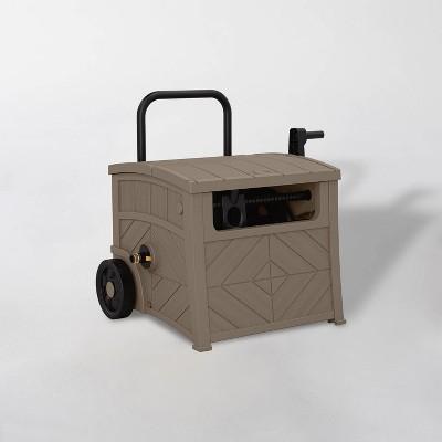 150' Resin Mobile Hose Hideaway Dark Taupe - Suncast