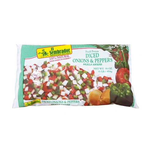 El Sembrador Fresh Frozen Diced Onions & Peppers - 16oz - image 1 of 1
