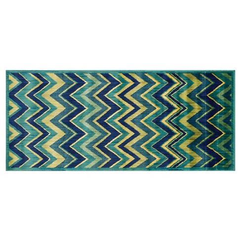 "Loloi Isabelle Accent Rug - Green (2'2""X5') - image 1 of 1"