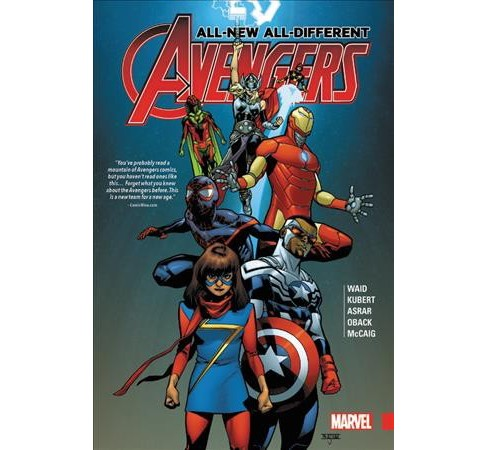 All-New, All-Different Avengers (Hardcover) (Mark Waid) - image 1 of 1