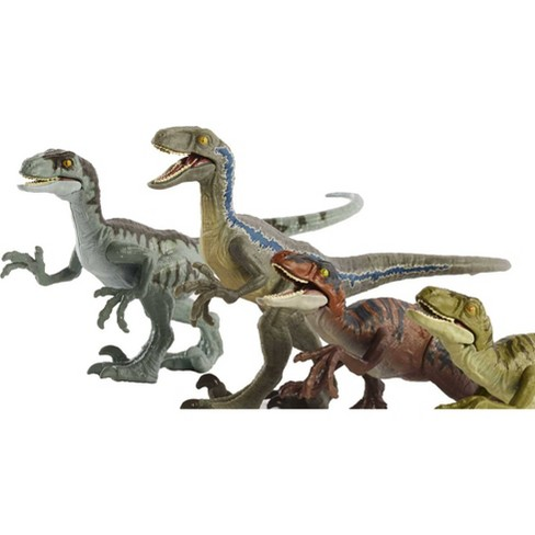 Jurassic World Camp Cretaceous Raptor Squad 4pk (Target Exclusive) - image 1 of 4