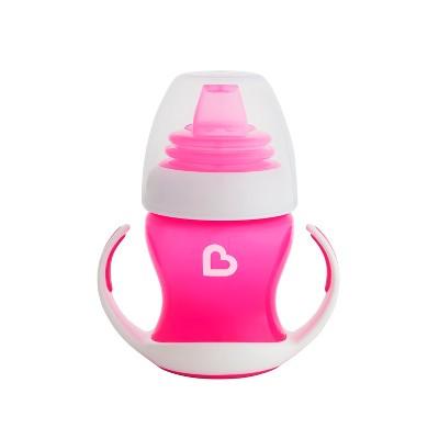 Munchkin Gentle Transition Pink Trainer Cup 4oz