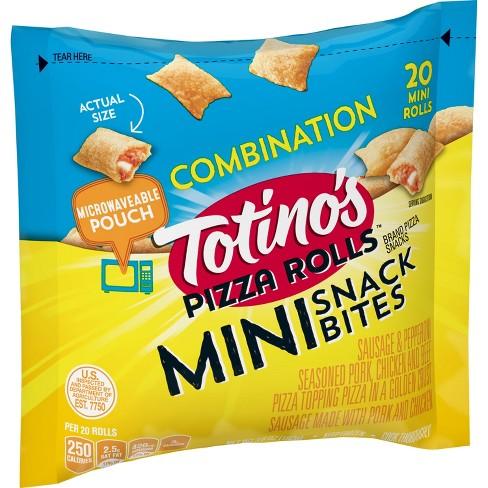 Totino's Combination Mini Snack Bites Frozen Pizza Rolls - 20ct - image 1 of 4