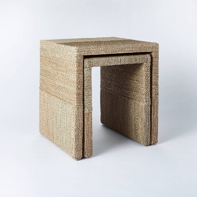 Set of 2 Woven Nesting Tables - Threshold™ designed with Studio McGee