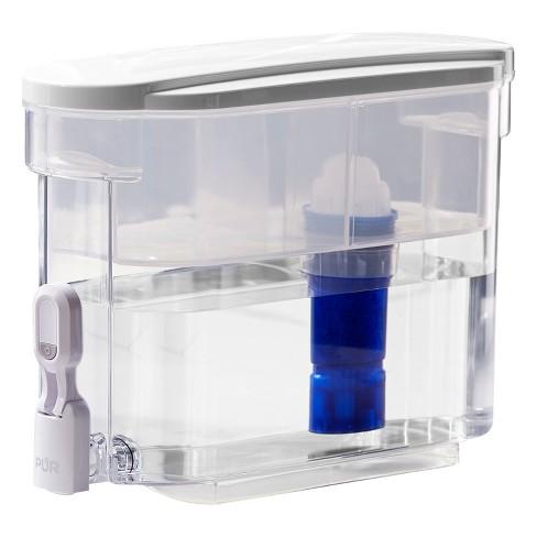 pur ultimate 18 cup led water filter dispenser target. Black Bedroom Furniture Sets. Home Design Ideas
