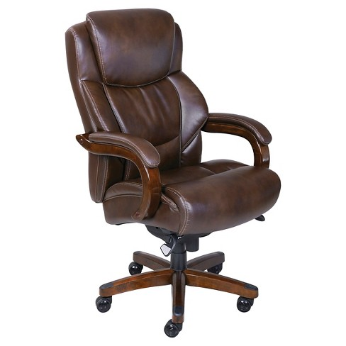 Delano Big & Tall Bonded Leather Executive Office Chair - La-Z-Boy - image 1 of 7