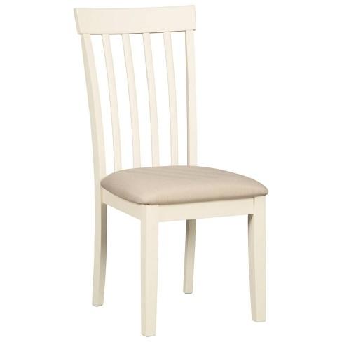 Set of 2 Slannery Dining Upholstered Side Chair White - Signature Design by Ashley - image 1 of 7