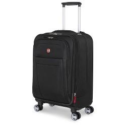 "SWISSGEAR Zurich 20"" Carry On Pilot Case Suitcase - Black"