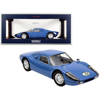 1964 Porsche Carrera 904 GTS Blue 1/18 Diecast Model Car by Norev