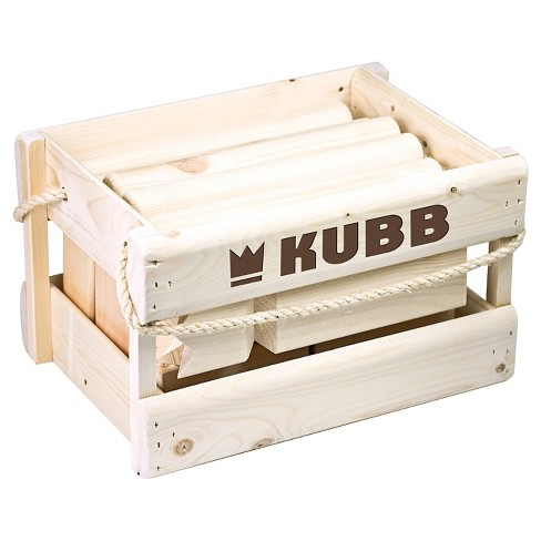 Kubb Original Outdoor Throwing Game in Wood Case - image 1 of 3
