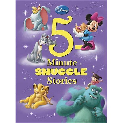 Disney 5-Minute Snuggle Stories by Disney (Hardcover)