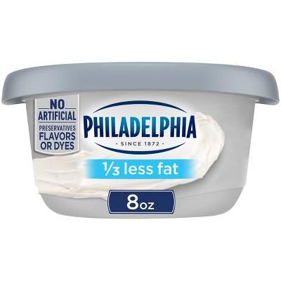 Philadelphia Reduced Fat Cream Cheese Tub - 8oz