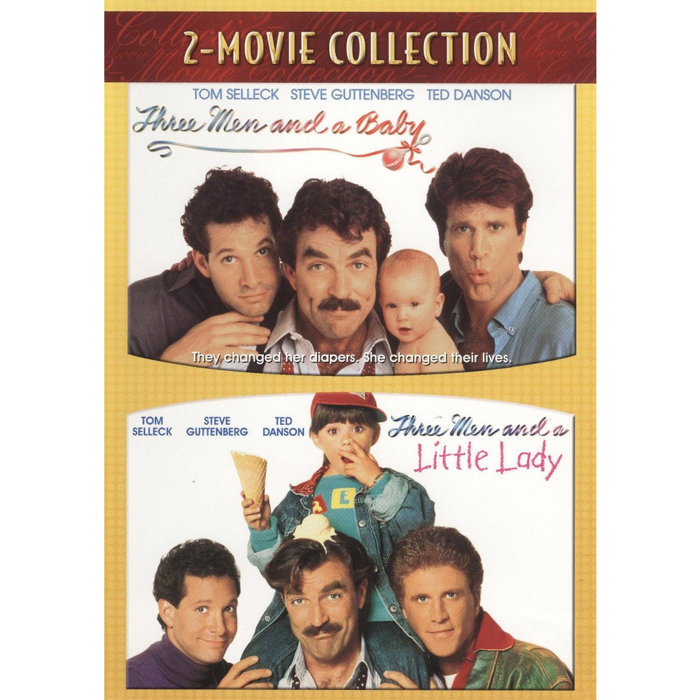 Three Men and a Baby/Three Men and a Little Lady [2 Discs] Three Men and a Baby/Three Men and a Little Lady [2 Discs]
