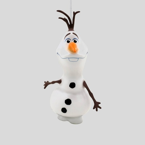 Disney Frozen Olaf Decoupage Christmas Ornament - image 1 of 4