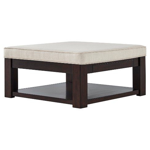 Cocktail Table Buff Beige - image 1 of 6