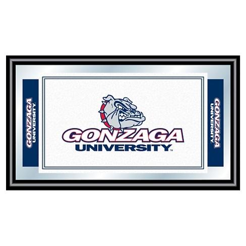 Gonzaga Bulldogs Team Logo Wall Mirror - image 1 of 1