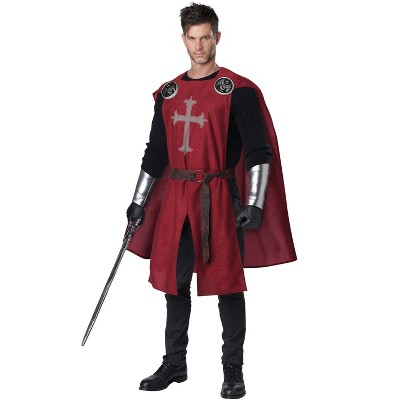 California Costumes Knight's Surcoat Adult Costume (Red)