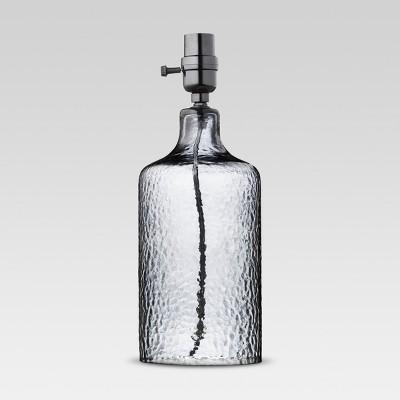 Artisan Glass Small Lamp Base Indigo Includes Energy Efficient Light Bulb - Threshold™