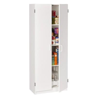 Baystone Storage Cabinet White - Room & Joy