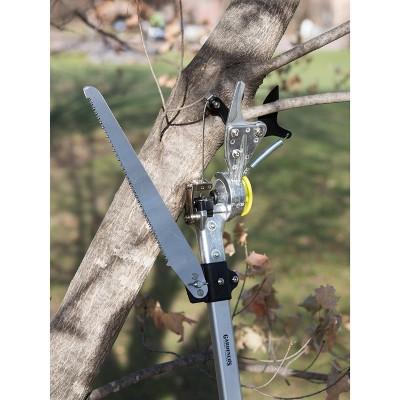 Gardeners Pro Rotating Pole Pruner with Saw - Gardener's Supply Company