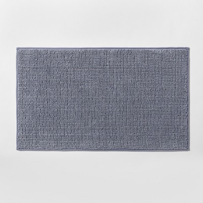20 x34  Heathered Bath Rug Brave Blue - Made By Design™