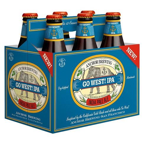 Anchor Go Weat! IPA Beer - 6pk/12 fl oz Bottles - image 1 of 1