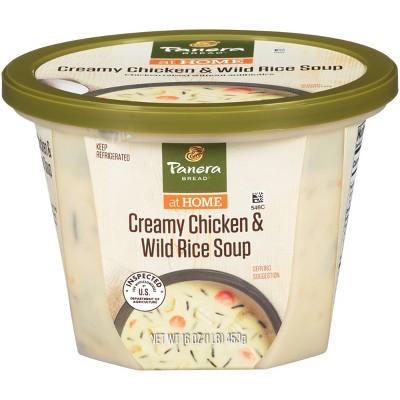 Panera Bread Creamy Chicken & Wild Rice Soup - 16oz