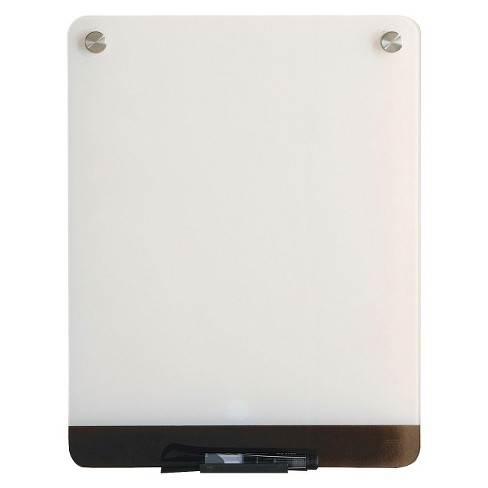Iceberg Glass Dry Erase Personal Board - White - image 1 of 1