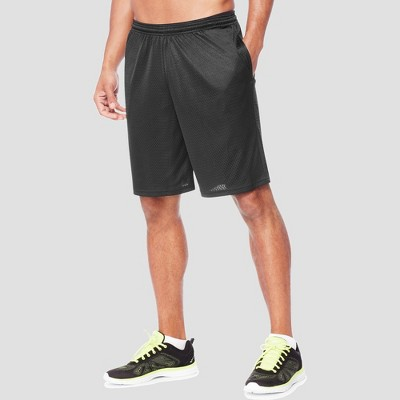 "Hanes Sport Men's 9"" Long Mesh Shorts"