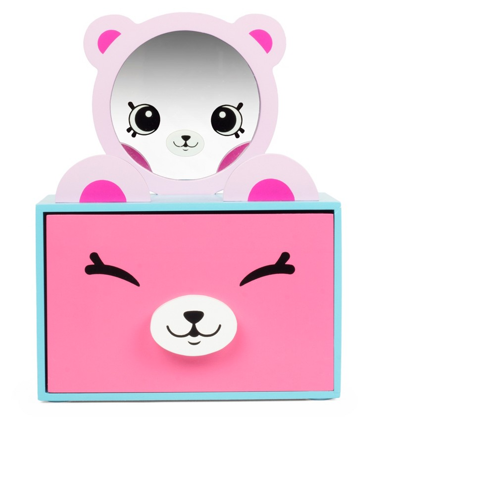 Happy Places Shopkins Pink Jewelry Box