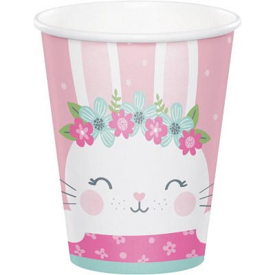24ct Bunny Print Party Cups