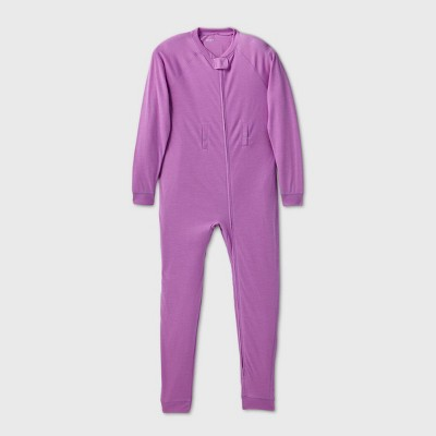 Kids' Adaptive Abdominal Access Pajama Jumpsuit - Cat & Jack™ Purple