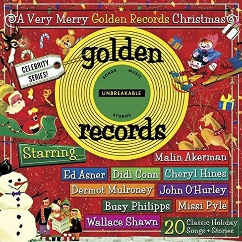 Various - Very Merry Golden Records Christmas (CD) - image 1 of 1