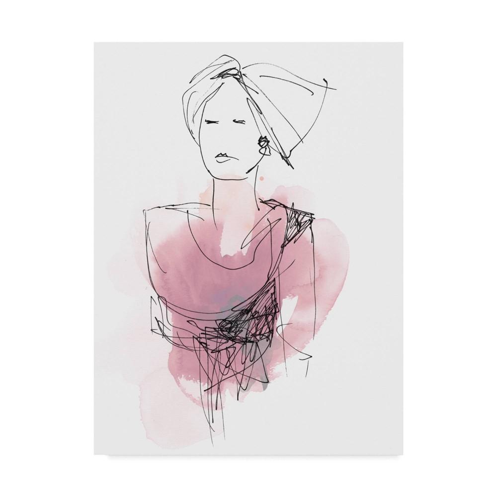 18 34 X 24 34 Fashion Splash V By June Erica Vess Trademark Fine Art