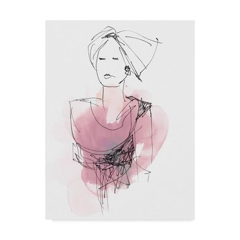 "18"" x 24"" Fashion Splash V by June Erica Vess - Trademark Fine Art - image 1 of 3"