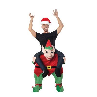 Adult Carry Me Elf Halloween Costume
