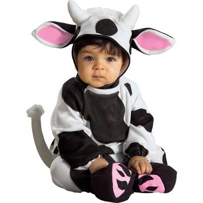 Baby Cozy Cow Halloween Costume 0-6M - Rubie's