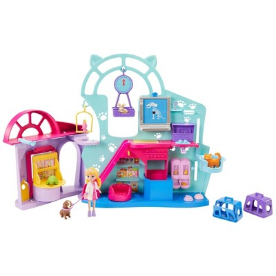 Polly Pocket Cuddle & Care Pet Vet Playset