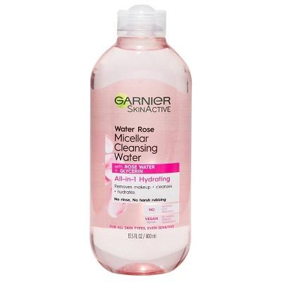 Garnier SkinActive Water Rose Micellar Cleansing Water - 13.5 fl oz