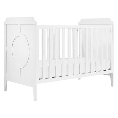 DaVinci Poppy Regency 3-in-1 Convertible Crib - White/White