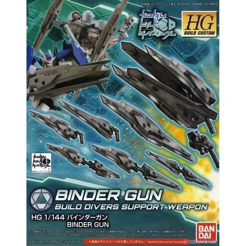 Bandai Hobby Gundam Build Divers Custom HGBC Binder Gun HG 1/144 Model Kit - image 1 of 3
