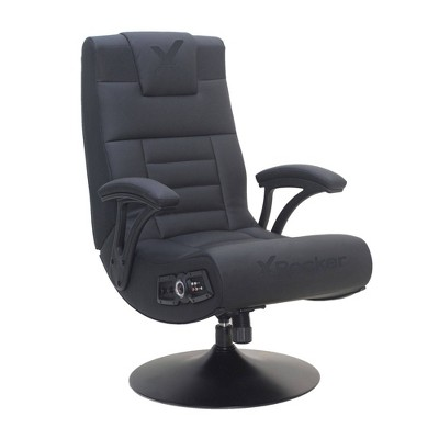 Covert 2.1 Wireless Audio Pedestal Console Gaming Chair Black - X Rocker