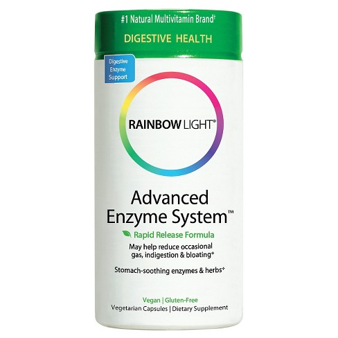 Rainbow Light Advanced Enzyme System Dietary Supplement Capsules - 60ct - image 1 of 1