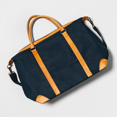 Large Weekender Bag Blue - Hearth & Hand™ with Magnolia